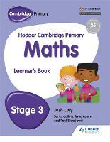 Hodder Cambridge Primary Maths Learner's Book 3 - Hodder Cambridge Primary Science (Paperback)