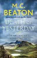 Death of Yesterday - Hamish Macbeth (Paperback)