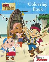 Disney Jake and the Never Land Pirates Colouring Book