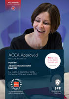 ACCA P6 Advanced Taxation FA2015: Practice and Revision Kit (Paperback)