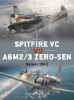 Spitfire VC vs A6M2/3 Zero-sen: Darwin 1943 - Duel 93 (Paperback)
