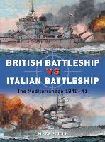 British Battleship vs Italian Battleship: The Mediterranean 1940-41 - Duel 101 (Paperback)