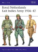 Royal Netherlands East Indies Army 1936-42 - Men-at-Arms 521 (Paperback)