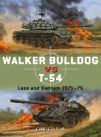 Walker Bulldog vs T-54: Laos and Vietnam 1971-75 - Duel 94 (Paperback)