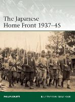 The Japanese Home Front 1937-45 - Elite (Paperback)