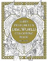 Terry Pratchett's Discworld Colouring Book (Paperback)