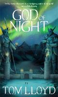 God of Night: Book Four of The God Fragments (Hardback)