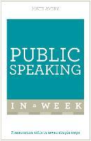 Public Speaking In A Week