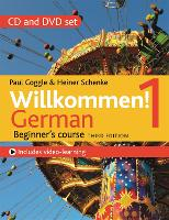Willkommen! 1 (Third edition) German Beginner's course: CD and DVD set (CD-Audio)