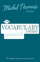 Spanish Vocabulary Course (Learn Spanish with the Michel Thomas Method) (CD-Audio)
