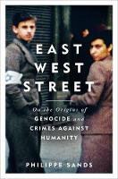 East West Street: Non-fiction Book of the Year 2017 (Hardback)