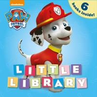 Nickelodeon PAW Patrol Little Library (Board book)