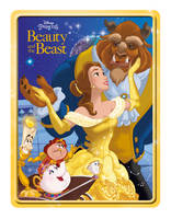 Disney Princess Beauty and the Beast Happy Tin - Happy Tin