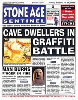 Stone Age Sentinel - News History (Hardback)