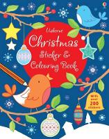 Christmas Sticker and Colouring Book - Sticker and Colouring Books (Paperback)