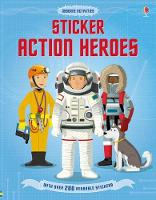 Sticker Dressing Action Heroes - Sticker Dressing (Paperback)