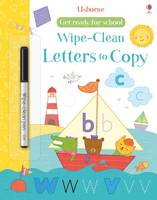 Wipe-clean Letters to Copy - Get Ready For School Wipe-clean Books (Paperback)