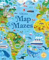 Map Maze Book (Paperback)