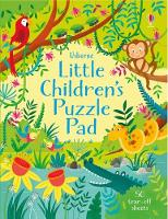 Little Children's Puzzle Pad (Paperback)