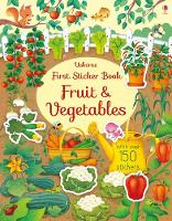 First Sticker Book Fruit and Vegetables - First Sticker Books (Paperback)