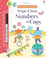 Wipe-clean Numbers to Copy - Get Ready For School Wipe-clean Books (Paperback)
