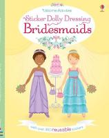 Sticker Dolly Dressing Bridesmaids