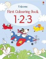 First Colouring Book 123 - First Colouring Books (Paperback)