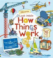 Look Inside How Things Work - Look Inside (Board book)