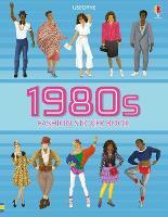 1980s Fashion Sticker Book (Paperback)