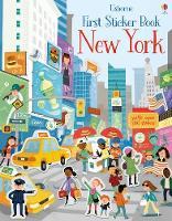First Sticker Book New York - First Sticker Books series (Paperback)