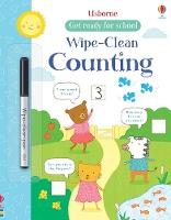Wipe-clean Counting - Get Ready For School Wipe-clean Books (Paperback)
