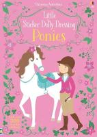 Little Sticker Dolly Dressing Ponies - Sticker Dolly Dressing (Paperback)