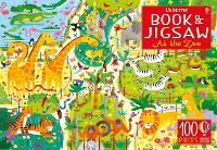 Usborne Book and Jigsaw At the Zoo