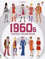 1960s Fashion Sticker Book (Paperback)