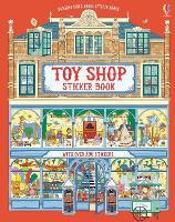 Doll's House Sticker Books Toy Shop Sticker Book - Doll's House Sticker Books (Paperback)