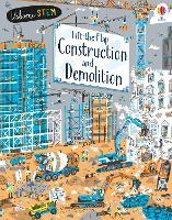 Lift-the-Flap Construction & Demolition (Board book)