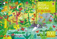 Usborne Book and Jigsaw In the Jungle