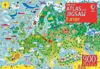 Usborne Atlas and Jigsaw Europe - Usborne Book and Jigsaw (Paperback)