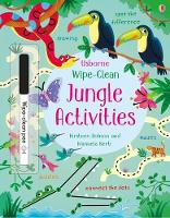 Wipe-Clean Jungle Activities - Wipe-clean Activities (Paperback)