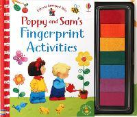 Poppy and Sam's Fingerprint Activities - Farmyard Tales Poppy and Sam (Spiral bound)