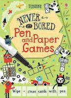 Pen and Paper Games - Never Get Bored Cards