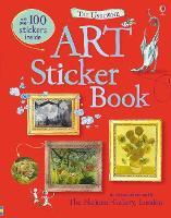 Art Sticker Book (Paperback)