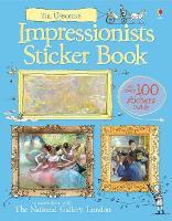 Impressionists Sticker Book (Paperback)