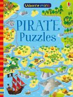 Pirate Puzzles x5 - Usborne Mini Books (Paperback)