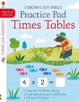 Times Tables Practice Pad 5-6 - Key Skills (Paperback)