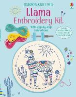 Embroidery Kit: Llama - Embroidery Kit