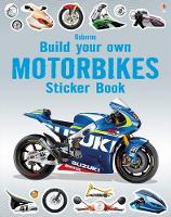 Build Your Own Motorbikes Sticker Book - Build Your Own Sticker Book (Paperback)