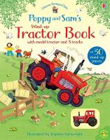 Poppy and Sam's Wind-Up Tractor Book - Farmyard Tales Poppy and Sam (Board book)