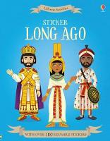 Sticker Long Ago (Paperback)