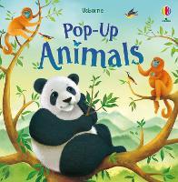 Pop-Up Animals - Pop-Ups (Board book)